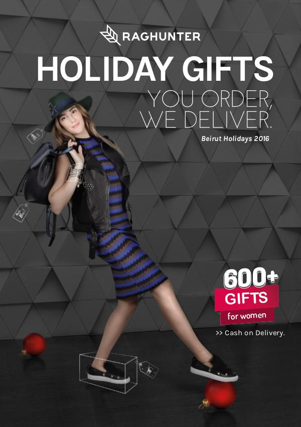 Raghunter Holiday Gifts Guide - For Women Raghunter Holiday Gift Guide - For Women