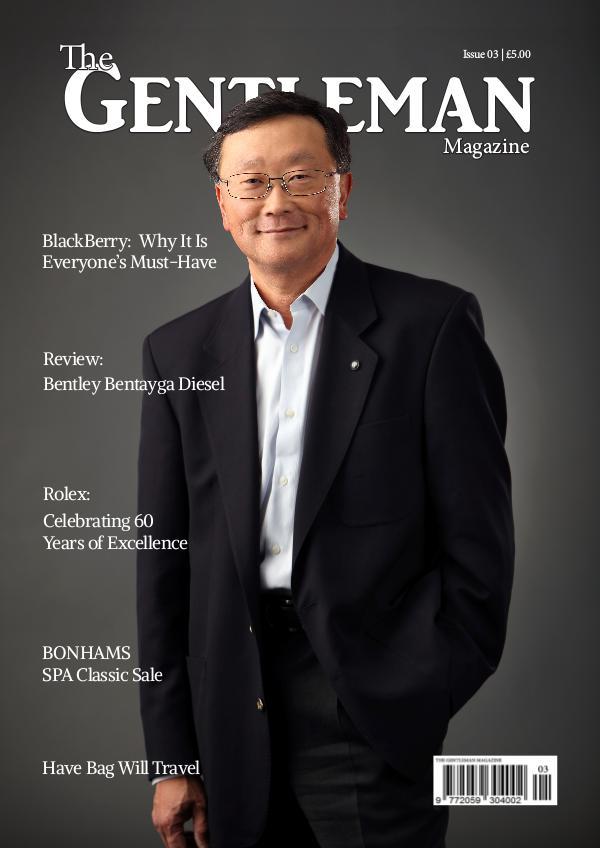 The Gentleman Magazine Issue 3 | June/July