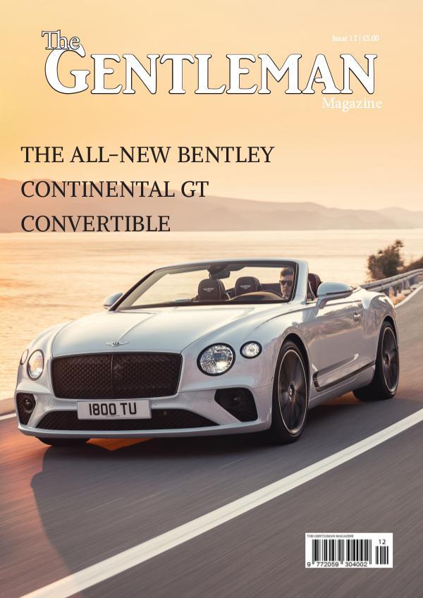 The Gentleman Magazine Issue 12 | December 2018