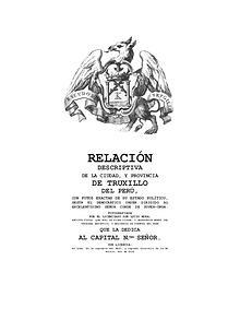 1.RELACIÓN DESCRIPTIVA DE LA CIUDAD, Y PROVINCIA DE TRUXILLO DEL PERÚ