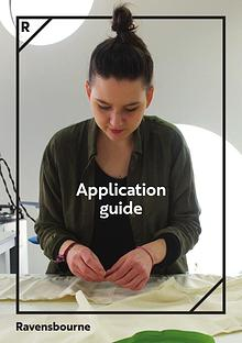 Ravensbourne Tier 4 Application Guide