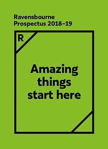 Ravensbourne Prospectus 2018-19