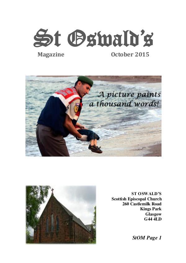 St Oswald's Magazine StOM 1510
