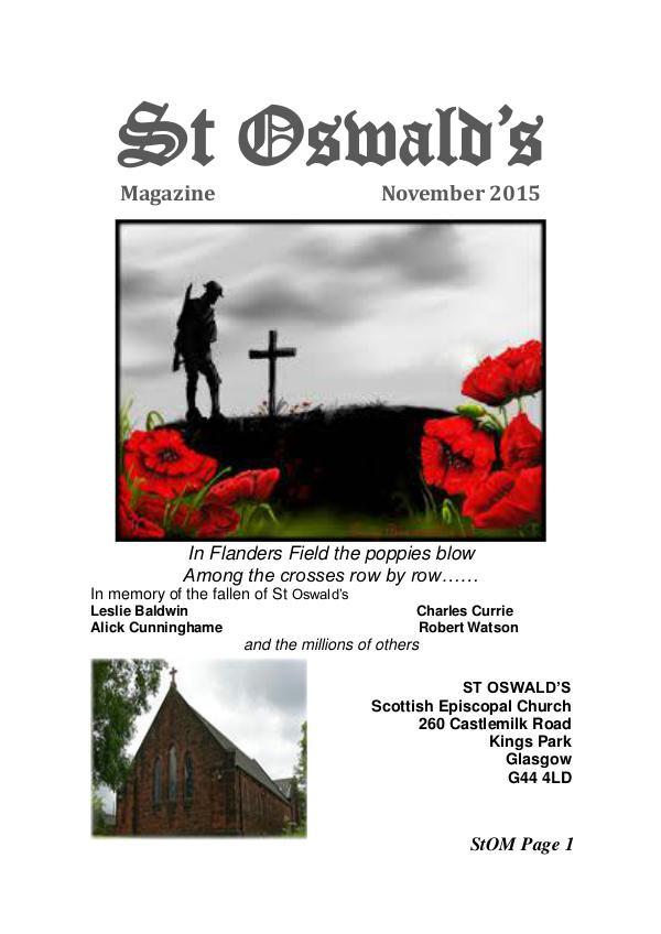St Oswald's Magazine StOM 1511
