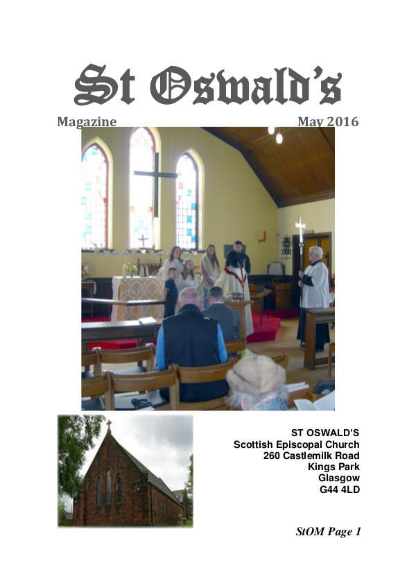 St Oswald's Magazine StOM 1605