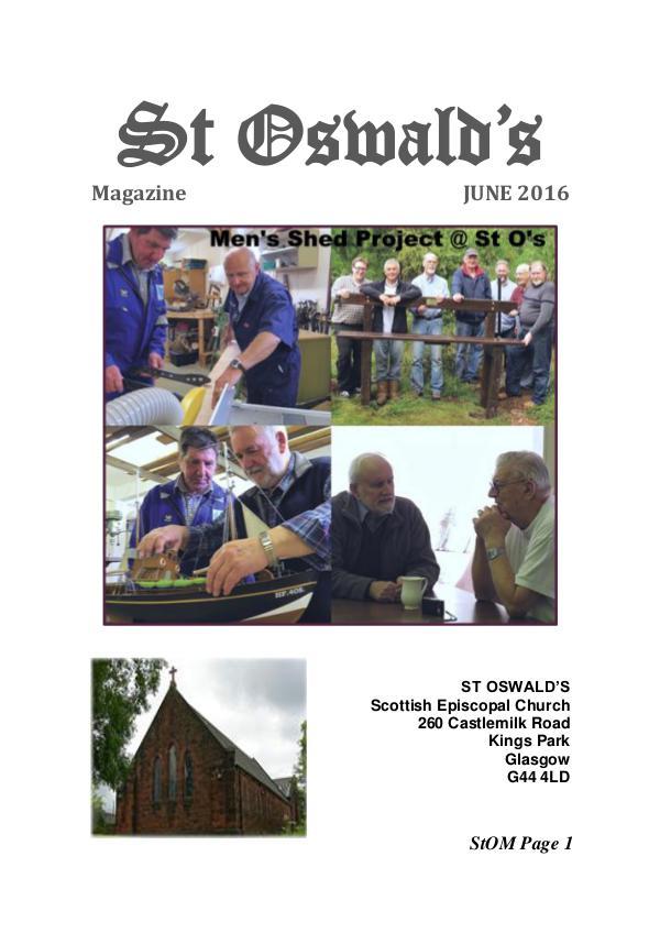 St Oswald's Magazine StOM 1606