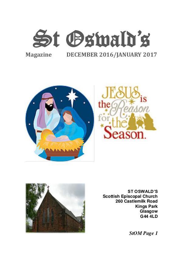 St Oswald's Magazine StOM 1612
