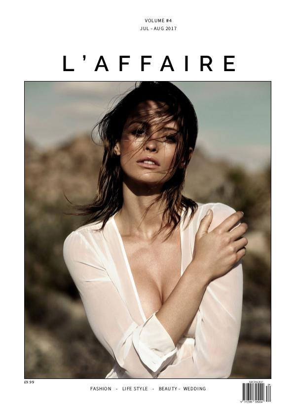 L'affaire July - August 2017 - Volume #4
