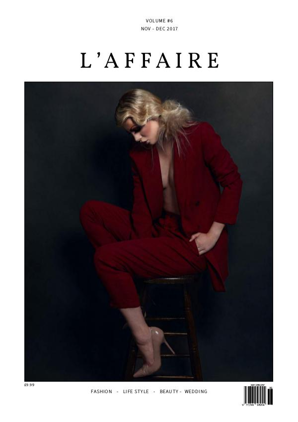 L'affaire Nov - Dec 2017 - Volume #6