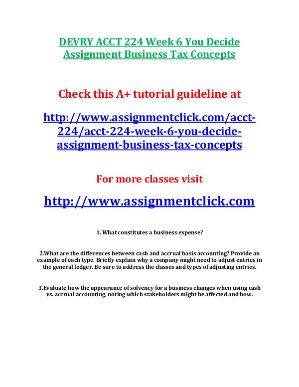 acct 555 you decide assignment Ops 571 week 1 assignment flowchart improvement process (2 papers) new purpose of assignment the purpose of this assignment is for students to learn process flowcharting/improving a process and summarizing the results.