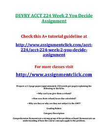devry acct 212 entire course