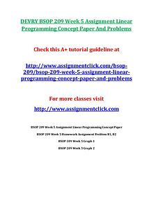 DEVRY BSOP 209 Entire CourseDEVRY BSOP 209 Entire Course