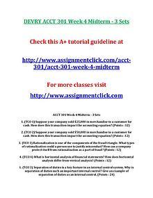 DEVRY ACCT 301 Entire CourseDEVRY ACCT 301 Entire Course