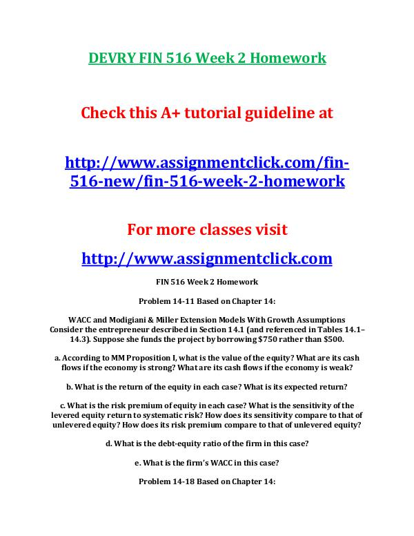 Fin 516 Week 2 Homework Assignment - image 10