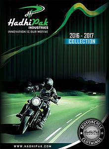 Biker Catalogue From Hadhipak Industries/Touring Boots, Jackets ETC