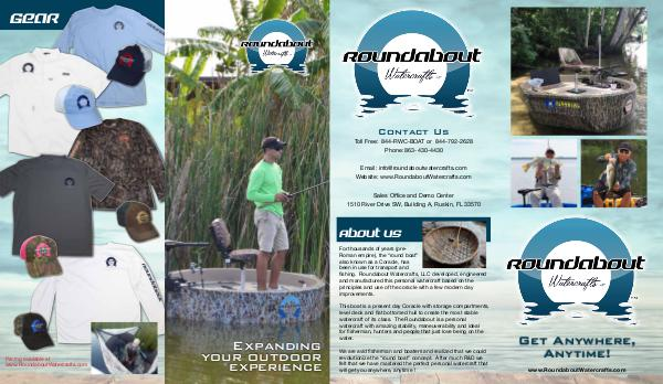 Roundabout Watercrafts Brochure Roundabout Watercrafts Brochure