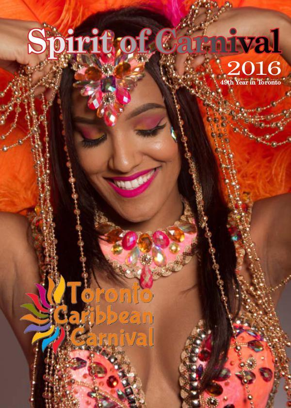 Toronto Caribbean Carnival Festival Guide 2016 Festival Guide