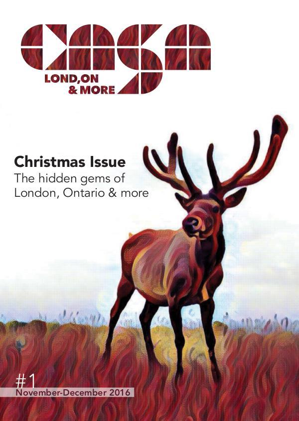 Casa London Magazine #1 // November - December 2016