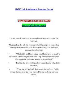 AB 213 STUDY Invent Yourself/ab213study.com