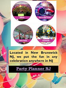 party planner nj
