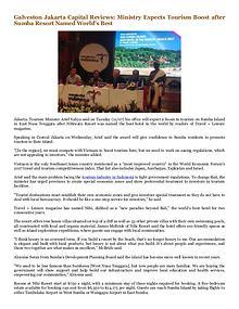 Galveston Jakarta Capital Reviews