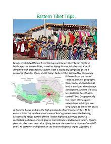 Eastern Tibet Trips
