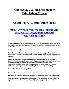 ASH ENG 225 Entire Course NEW