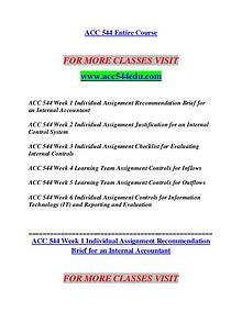 ACC 544 EDU Invent Yourself/acc544edu.com