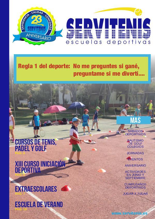 Servitenis  Magazine REVISTA DIGITAL DE SERVITENIS CURSO 2015/2016