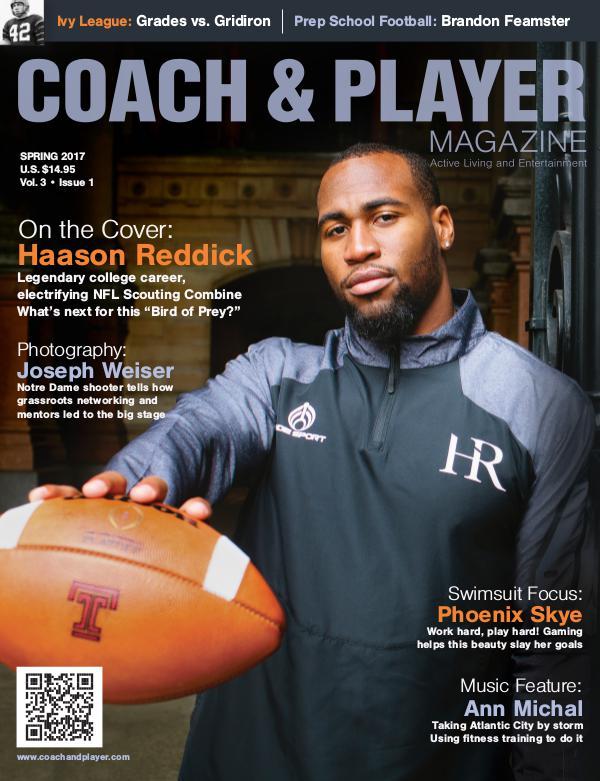 Coach & Player Magazine Spring 2017