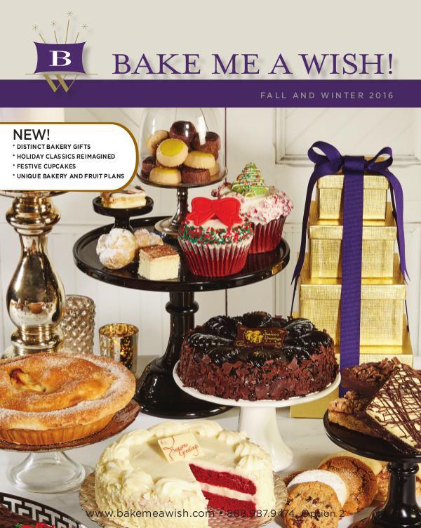 Bake Me A Wish 2016 Holiday Catalog V
