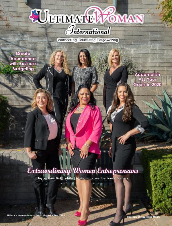 Ultimate Woman International Magazine Dec 2019 UWI DEC 2019