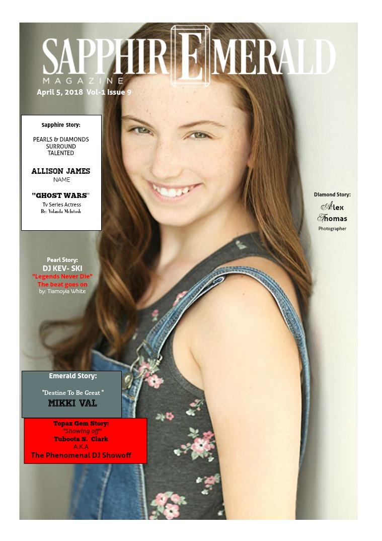 SapphirEmerald Magazine Sapphire Story Allison James
