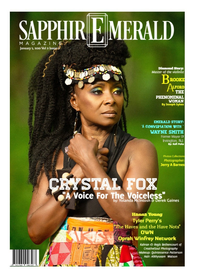 SapphirEmerald Magazine January  8, 2019, Vol 2 Issue 3