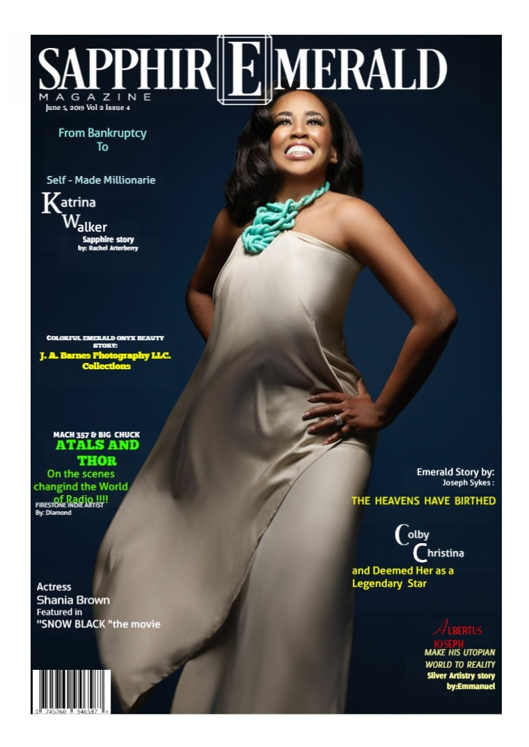 SapphirEmerald Magazine June 6, 2019 Vol. 2 Issue 4