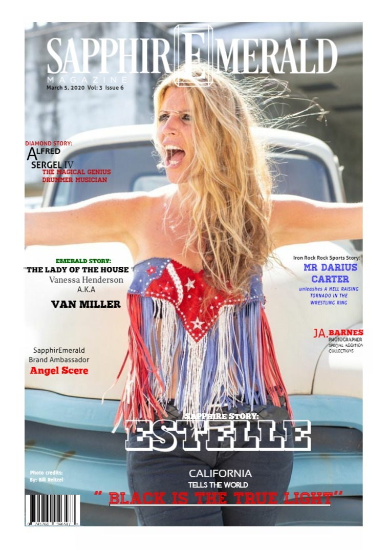 SapphirEmerald Magazine March  5, 2020 Vol 3 Issues 6