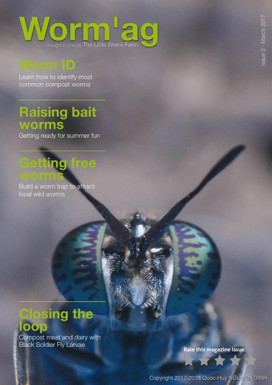 Worm'ag: Worm Farming Magazine Issue 02 - March 2017