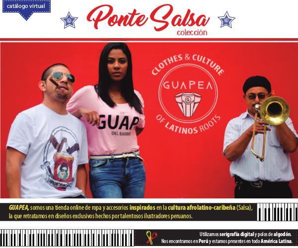 colección Ponte Salsa de Guapea Colección Ponte Salsa de Guapea