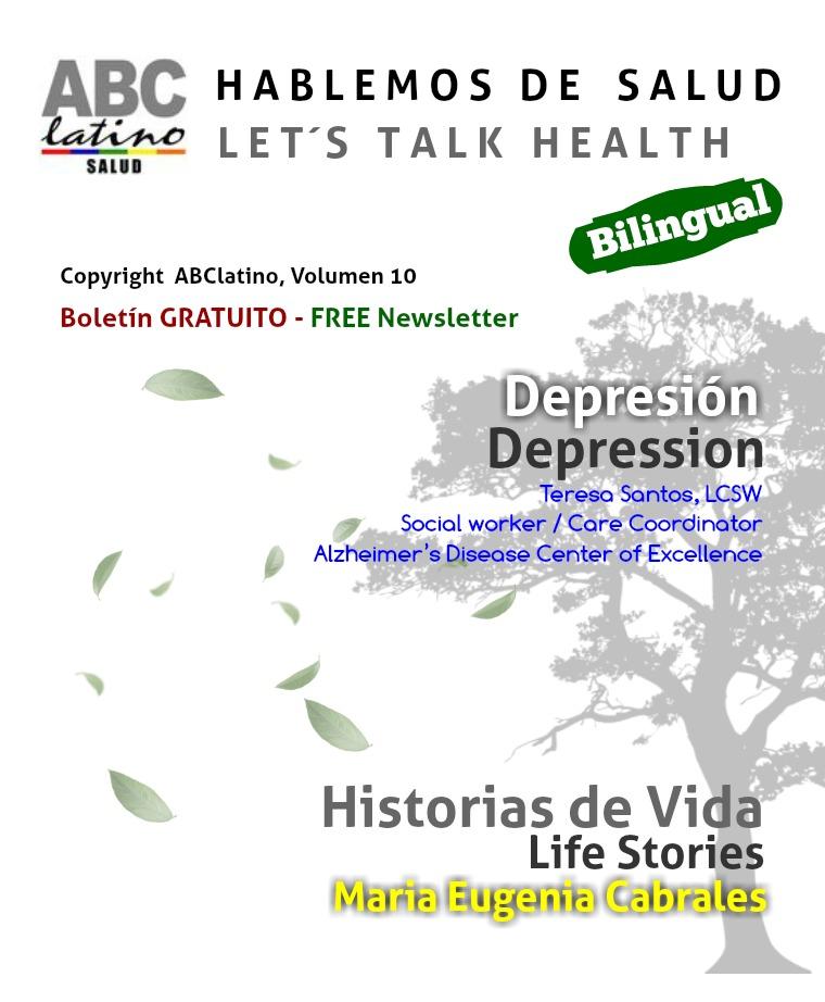 ABClatino-Hablemos de Salud January, Year 2 - Volume 10
