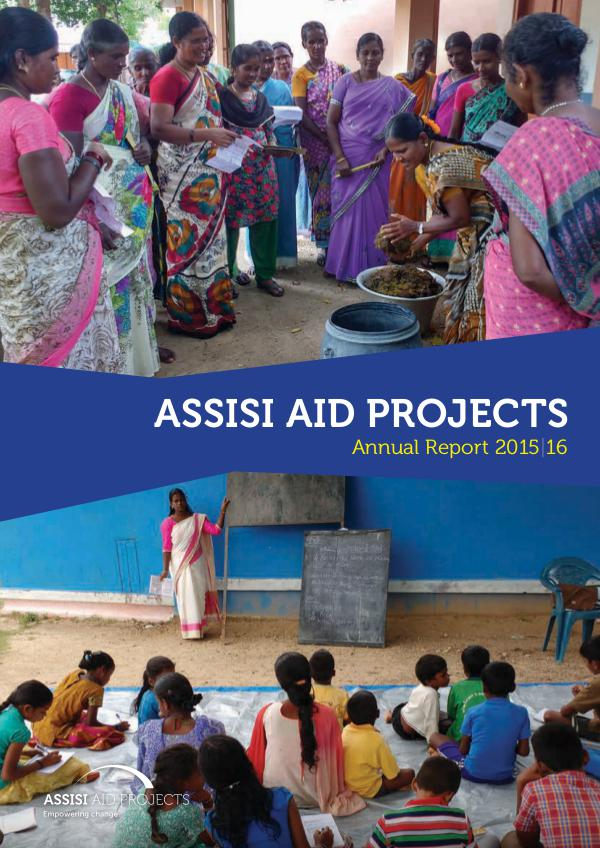 Assisi Aid Projects Annual Report 2016