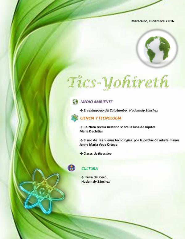 Mi primera revista Yohireth