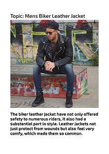 Stylish Mens Biker Jackets