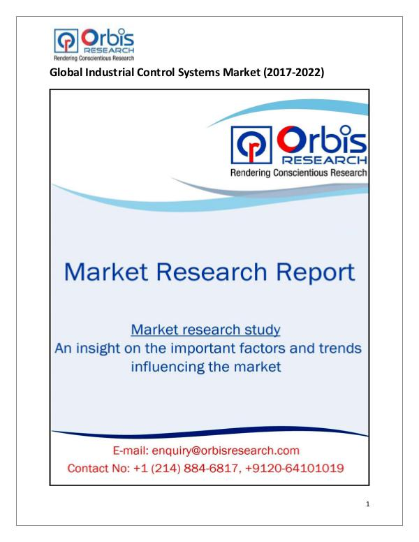Research Report: Global Industrial Control Systems Market