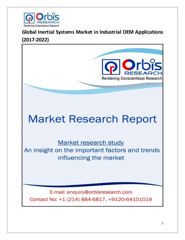 Global Inertial Systems in Industrial OEM Applicat