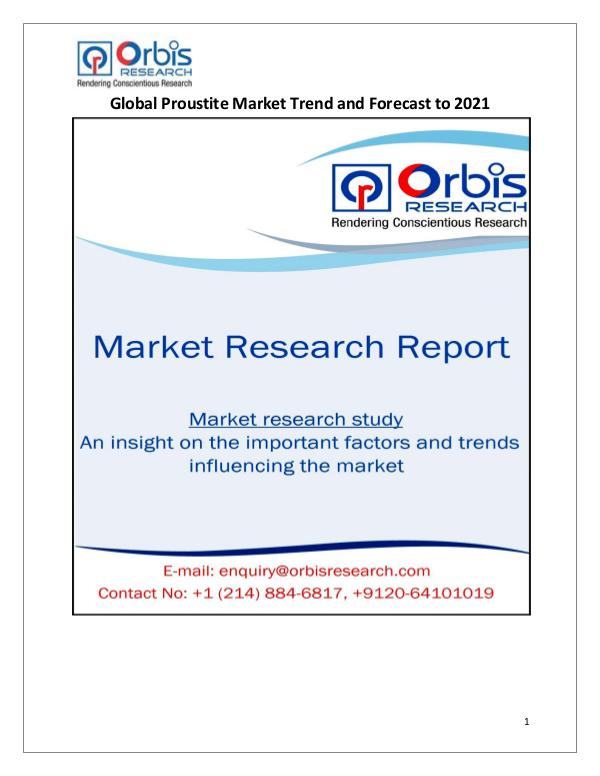 Research Report: Global Proustite Market 2021