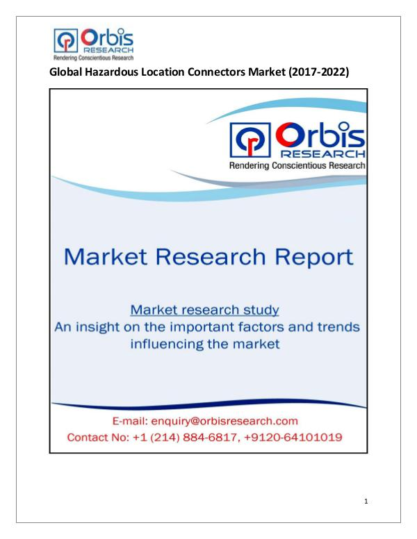 Global Hazardous Location Connectors Market