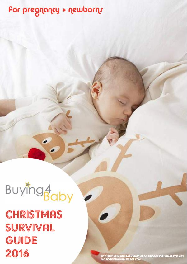 Buying4Baby Christmas Survival guide 2016 Buying4Baby Christmas Survival Guide 2016