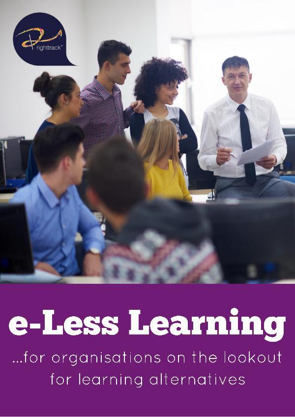 e-Less Learning Brochure 1