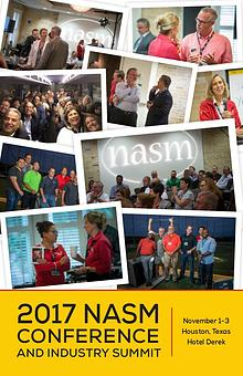 2017 NASM Conference and Industry Summit Onsite Guide