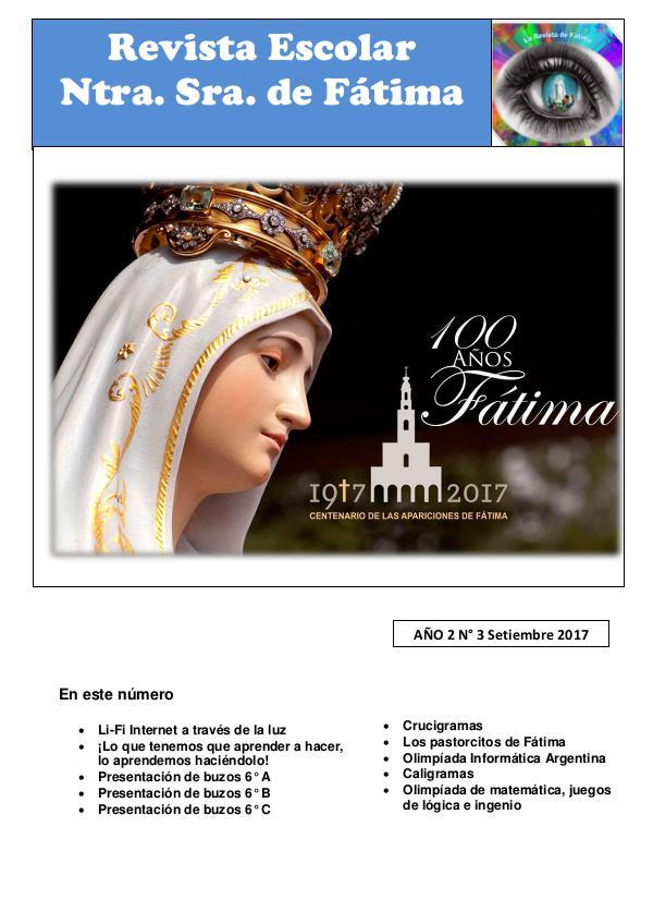 Revista escolar Revista 3° edición